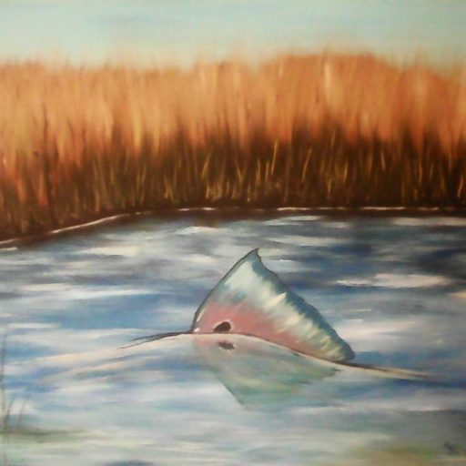 Cannette jetée dans les marais / Can tossed in the marsh